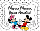 Mickey&Minnie Behavior Chart