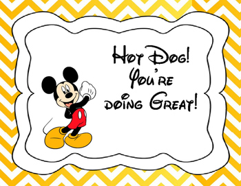 Mickey&Minnie Behavior Chart