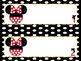 Mickey & Minnie Name Tags