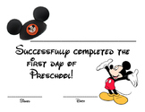 Mickey Mouse 1st Day Completion