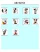Mickey Mouse ABC Match File Folder Game