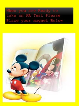 Mickey Mouse AR Management System