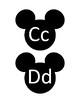 Mickey Mouse Alphabet