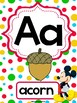 Mickey Mouse Alphabet Posters