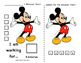 Mickey Mouse Behavior Chart!