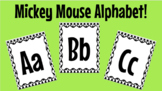 Mickey Mouse Classroom Alphabet