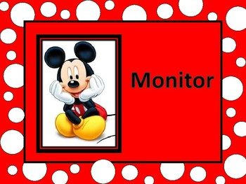 Mickey Mouse Classroom Helpers