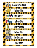 Mickey Mouse Classroom Labels *EDITABLE*