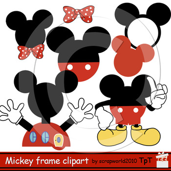 Mickey Mouse Clipart Frame-Bundle