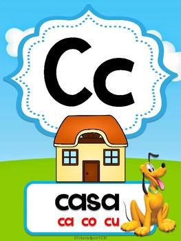 Mickey Mouse Club House - Abecedario (Spanish Alphabet)