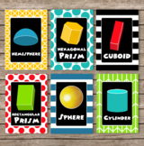 Mickey Mouse Clubhouse Inspired Shape Cards 2D and 3D - 30 Cards