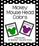 Mickey Mouse Color Posters