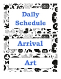 Mickey Mouse Themed Daily Schedule