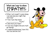 Mickey Mouse Empathy & Self-Control posters
