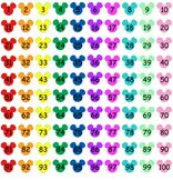 Mickey Mouse Hundreds Chart - Disney-fied