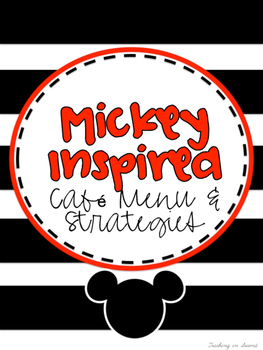 Mickey Mouse Inspired CAFE Menu and Strategies