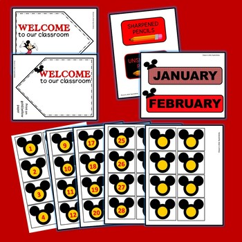 Mickey Mouse Inspired Classroom Decor