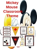 Mickey Mouse Inspired Classroom Theme