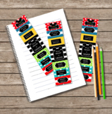 Mickey Mouse Inspired EDITABLE Take Home Mini Behavior Chart
