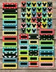 Mickey Mouse Inspired Pocket Chart Calendar / Editable Tags