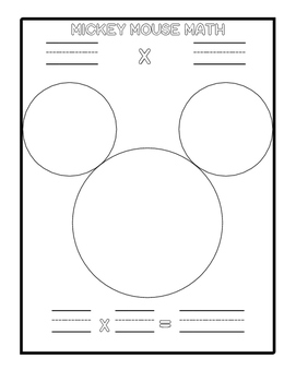 Mickey Mouse Math