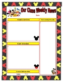 Mickey Mouse Newsletter - PDF Format