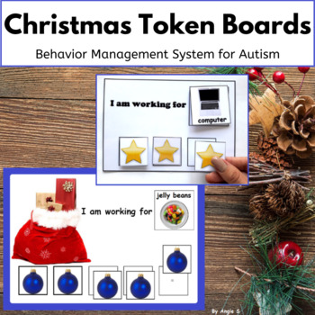 Christmas Token Reward Board- I`m Working For