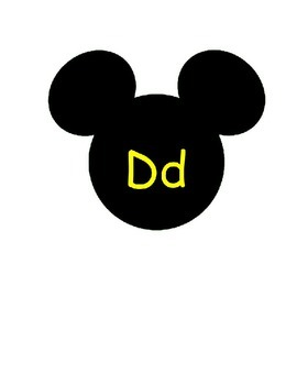 Mickey Mouse Word Wall
