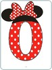 Mickey Mouse and Minnie Mouse Numbers 0-10