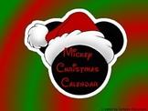 Mouse Ears Christmas Calendar