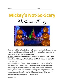 Mickey Not So Scary Halloween Party Disney World - Lesson review questions