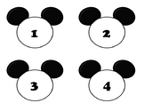 Mickey Number Line