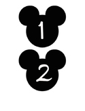 Mickey Numbers 1-35