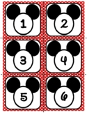 Mickey Theme Numbers