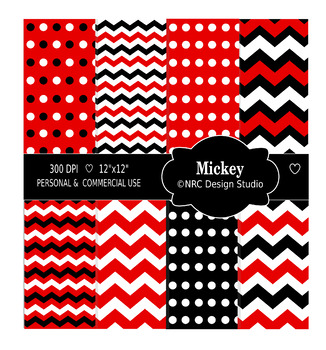 Mickey Paper Pack