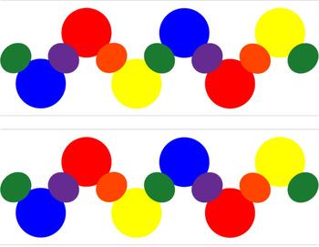Mickey Primary Color Border