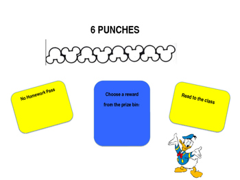 Mickey Punch Card