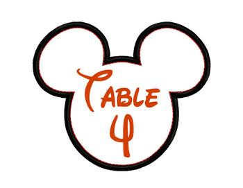 Mickey Tables 1-7