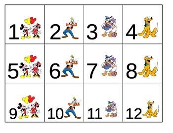 Mickey Theme Calendar