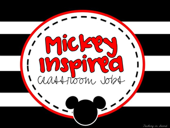 Mickey Theme Job Chart