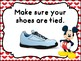Mickey Themed  Rules Posters For P.E. Class