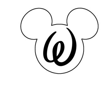 Mickey Welcome Sign