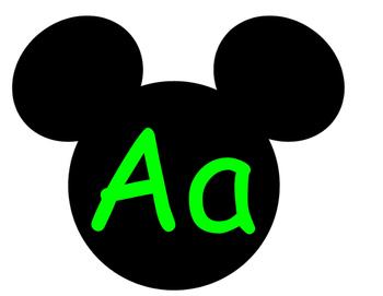Mickey Word Wall **Green