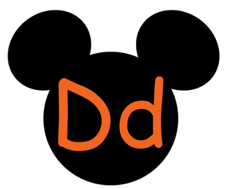 Mickey Word Wall **Orange