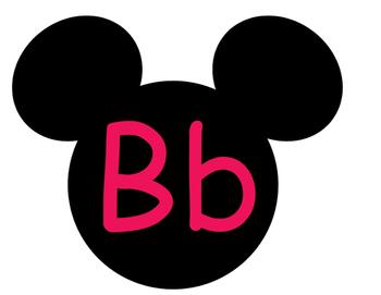 Mickey Word Wall **Pink