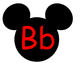 Mickey Word Wall **Red