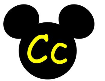 Mickey Word Wall **Yellow
