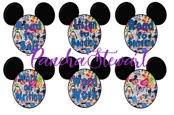 Mickey and Friends Nerds Daily 5