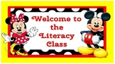 Mickey and Minnie Mouse Classroom Pack