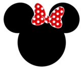 Mickey and Minnie Name Tags/ Labels